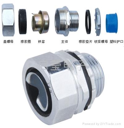 金屬軟管接頭 1