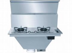 嵌入式廚房(不鏽鋼)嵌入式環保灶
