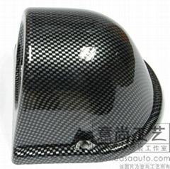 意尚工艺汽车内饰改装碳纤维反光镜