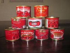 Pomo quality tinned tomato paste