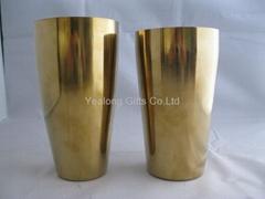 27oz Metal-on-metal stainless steel boston shaker