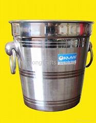 Earring design handle Stainless Steel Wine Ice Bucket