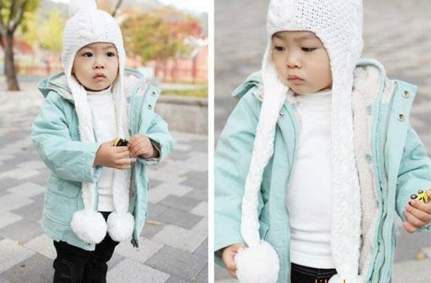 百搭纯色儿童保暖内衣 3