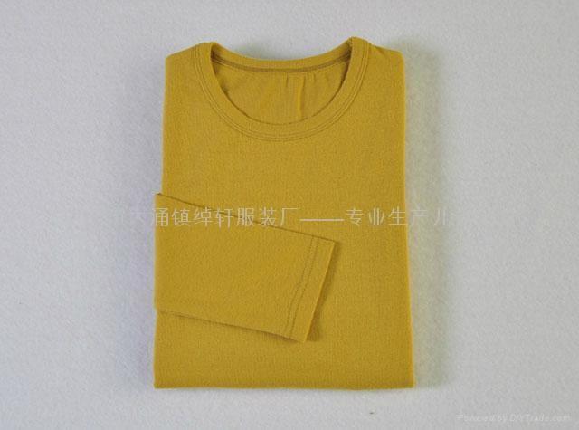 儿童圆领纯色T恤 3