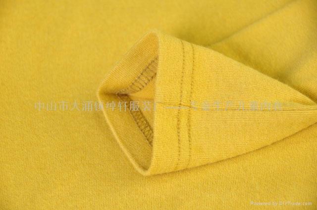 儿童圆领纯色T恤 4