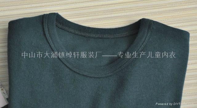 儿童圆领长袖打底衫 3