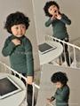 儿童长袖高领打底衫