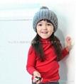 儿童红色T恤 3