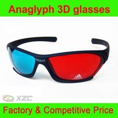 3D紅藍眼鏡