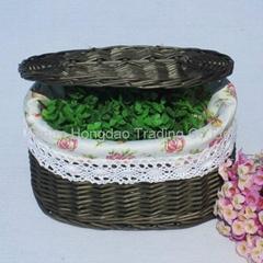 high-quality willow flower basket-WFB2119