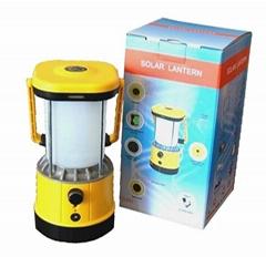 OEM certified LED solar camping lantern