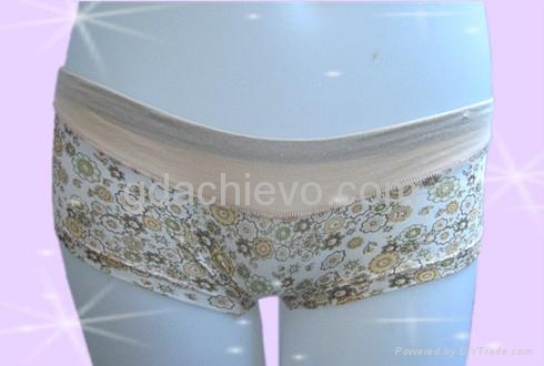 印花平角裤女式内裤 1