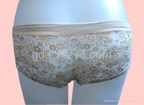 印花平角裤女式内裤 2