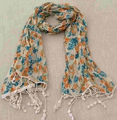 Voile scarf