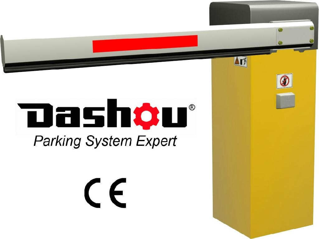 Intelligent automatic road barrier gate ce approval