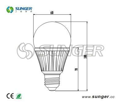 供應大功率LED球泡燈 3