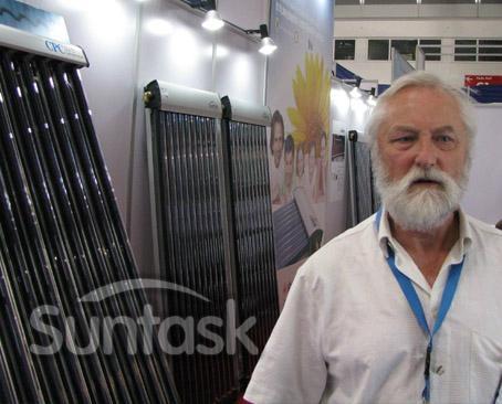 Evacuated Solar Collectors with Solar Keymark&SRCC 2