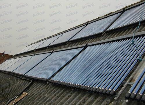 Vacuum Tube Solar Collector with Solar Keymar 1