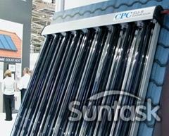 CPC solar collector