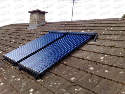 Solar water heater with Solar Keymark&SRCC 2