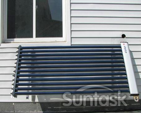 U-pipe solar collector 1