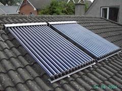 Solar thermal collector with Solar Keymark&SRCC