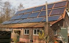 Suntask solar thermal collector with Solar Keymark&SRCC