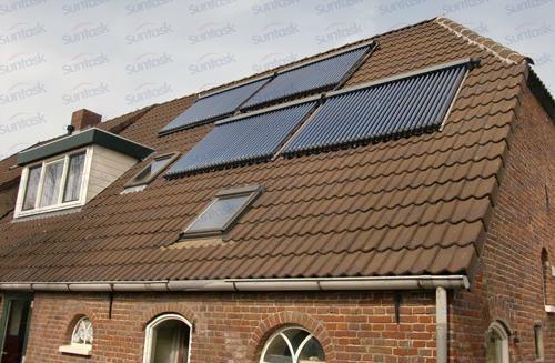 Suntask solar thermal collector with Solar Keymark&SRCC 2
