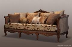 美式古典沙发