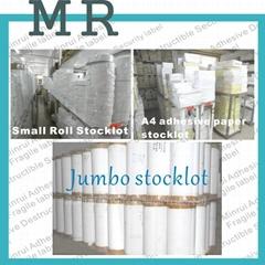 A4/A3 offset packaging destructible vinyl label papers
