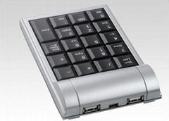 wire 2.0 HUB numeric keypad