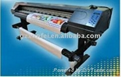 1.6m Multicolor Eco Solvent Printing Machine SJ-1601 (with 1pc Epson Printhead)