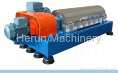 LWS three-phase scroll discharge centrifuge