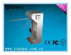 mechanical vertical tripod turnstile gate mechanism