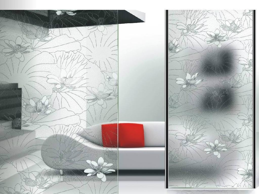 Decorative Glass Product : Decorative glass partition jl jolosky china