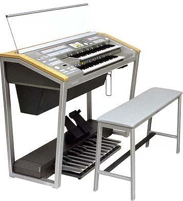 雅马哈EL-900B双排键电子琴 4