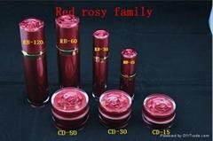 red rose cosmetic jar
