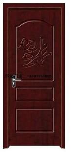 白橡免漆套裝門 1