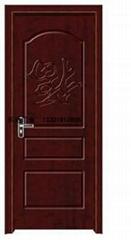 白橡免漆套裝門