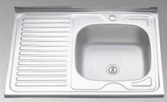 Stainless Steel Sink 8060