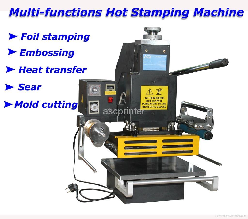 foil sting machine for pencils