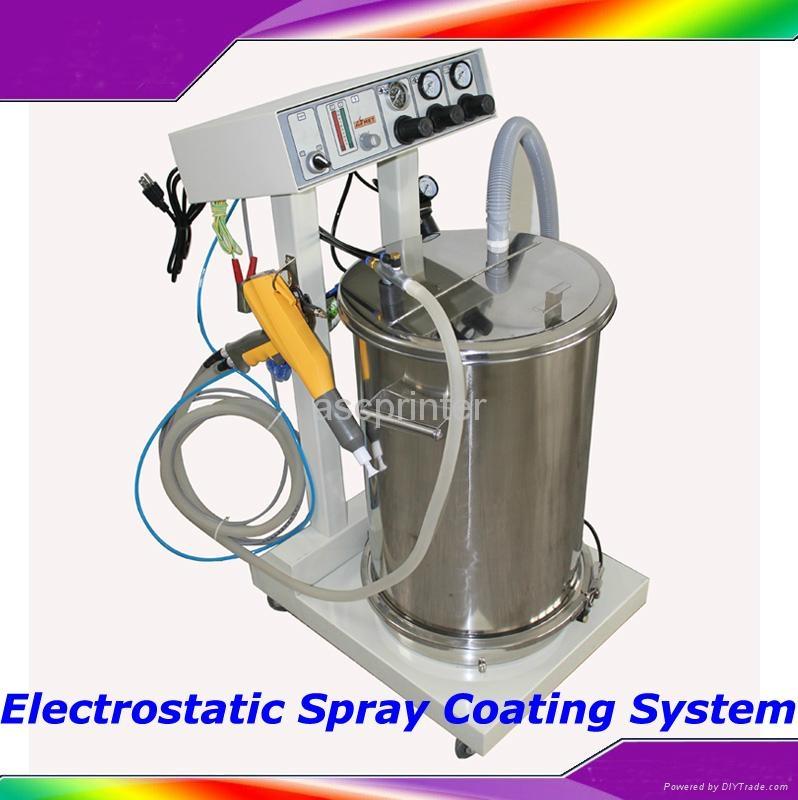 Electrostatic Spray Powder Coating Machine Spraying Gun Paint System