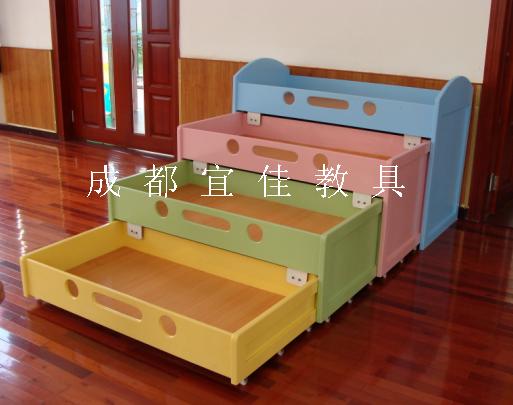 幼儿园专用单层床双层床抽屉床