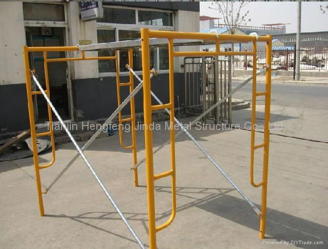 Metal Frame Scaffolding 2