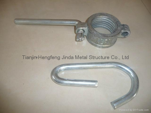 Scaffolding Prop Nut with handle 1