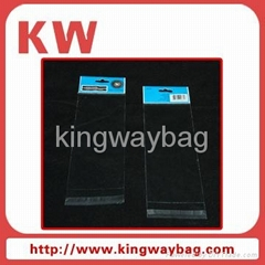 opp self-adhesive header bag