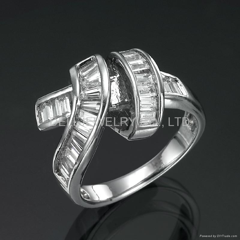 Vogue jewelry new design finger ring, stylish bandage - R6009 ...
