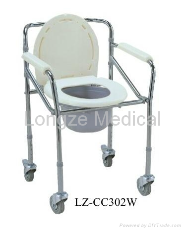 Folding Commode Chair 2
