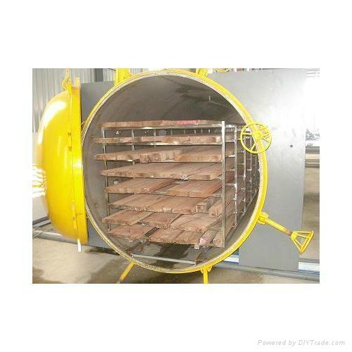 隧道式微波木材烘干防霉机 3