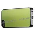 iPhone5 Case Green Brushed Metal